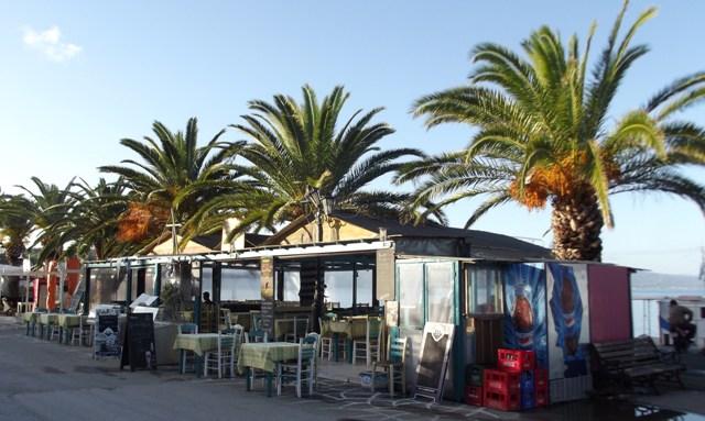 Kaggelarios fish restaurant Koroni
