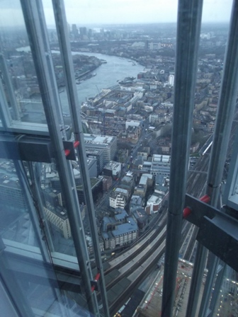 The Shard view floor 72