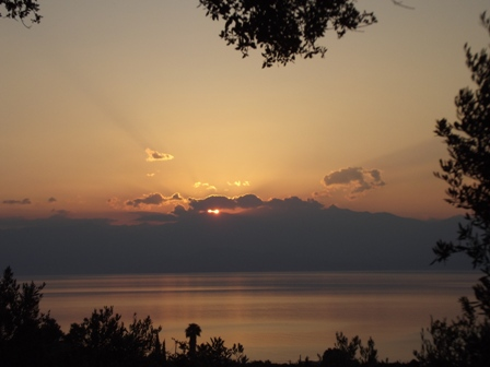 Summer solstice from Gargarou Retreat Greece 2013