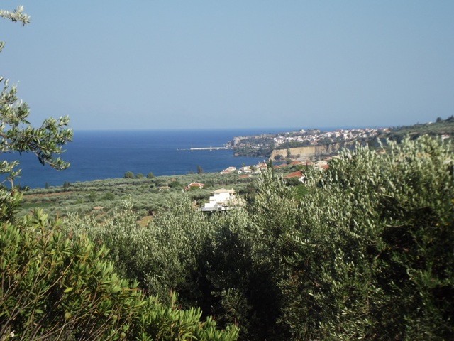 View to Koroni from Villa Jasmine