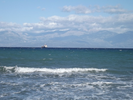 Gargarou beach to the Mani