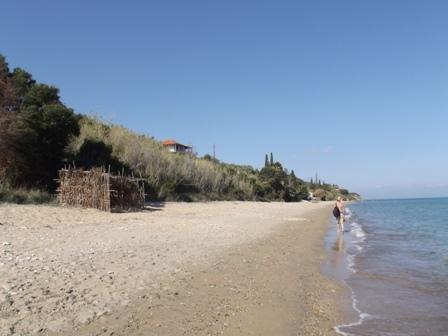 Gargarou to Peroulia beach walk November