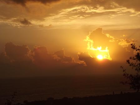 Sunrise over the Mani
