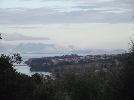 view to Koroni from Gargarou Retreat Villa Jasmine