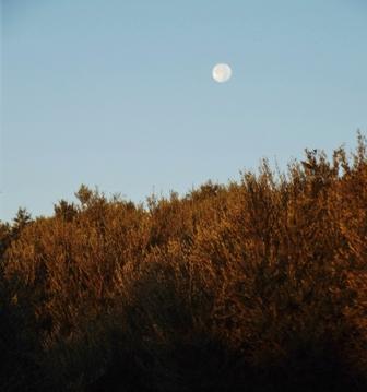 Moon at Sunrise Gargarou Retreat