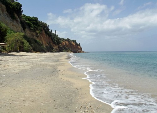 Agios triada beach, near Koroni