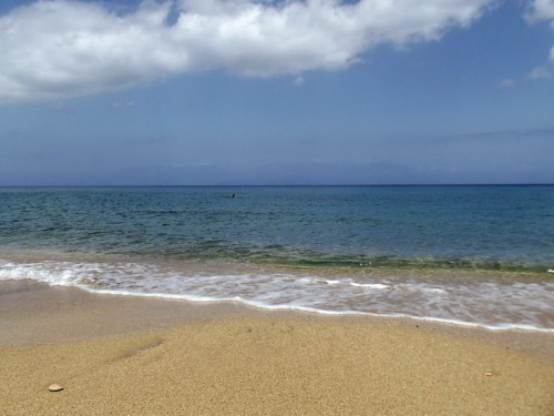 Agios triada beach near Koroni
