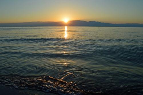Summer Solstice from Gargarou beach